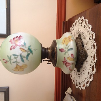 My beautiful GWTW lamp.