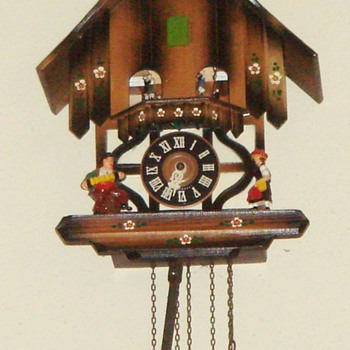 Black Forest Cuckoo Clock, Musical w/Dancers