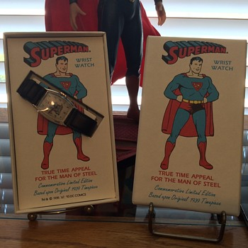 Reproduction of New Haven Superman wristwatch