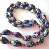 Vintage Millefiori bead necklace