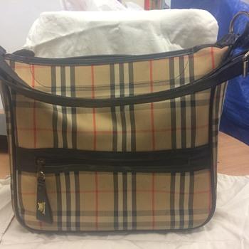 My Grandmothers Burberrys Shoulder Bag - Bags