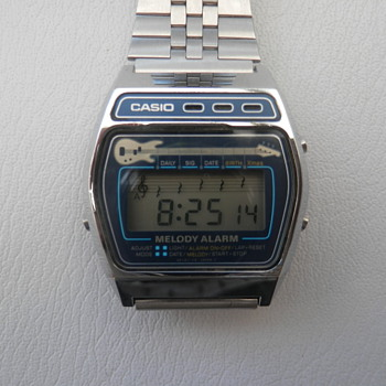 Vintage 1980-90s Casio watches