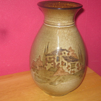 Pottery vase.  - Art Pottery