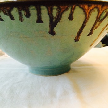 I love the colour and design.  - Art Pottery