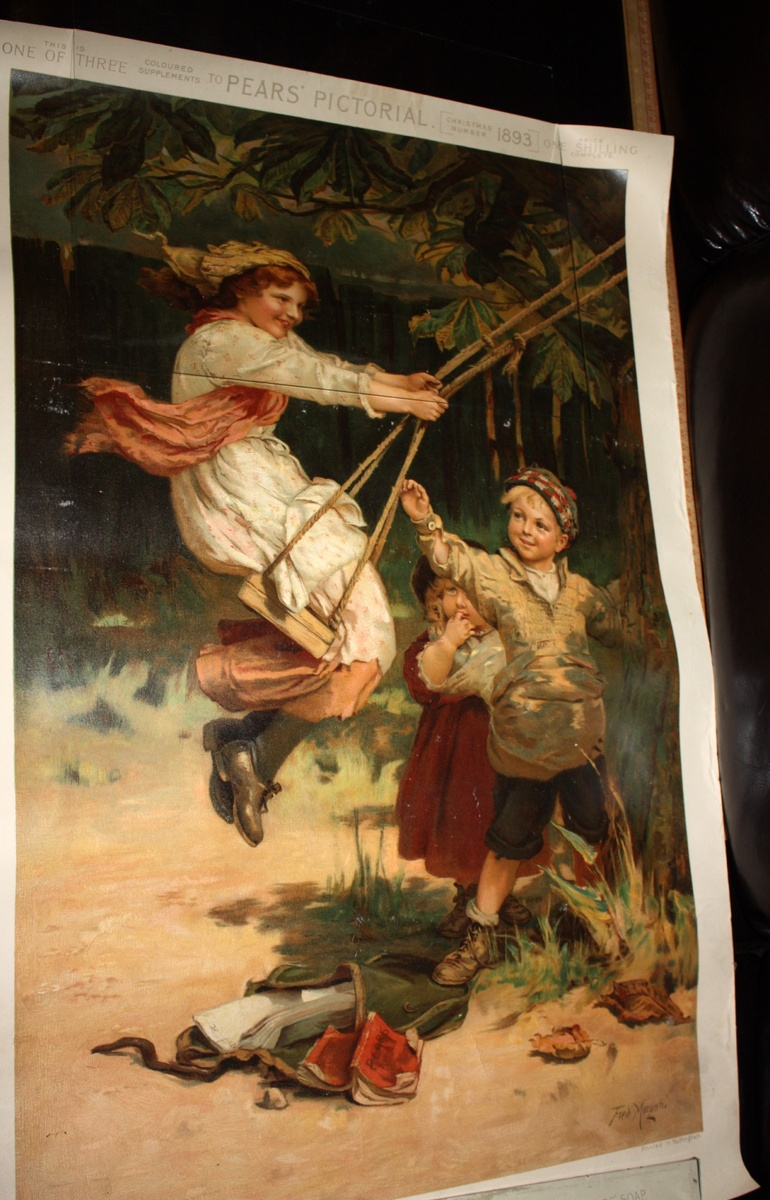 Original? Pear's Soap Annual Poster - 1893 Collectors Weekly.