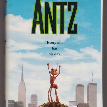 "1999 - ""ANTZ"" Children's VHS Tape - Movies"