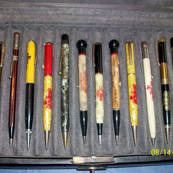 Harley-Davidson Mechanical Pencil Collection - Motorcycles