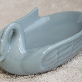 Art-Deco Ceramic Swan.....