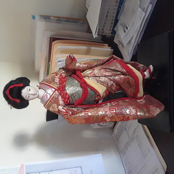 Japanese Geisha Doll?