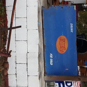 Bevco Pepsi sign
