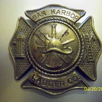"Bar Harbor Ladder Co., survived ""THE GREAT FIRE"" of 1947 - Firefighting"