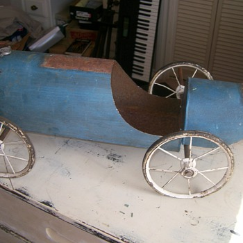 Folk Art Racer Project / Lemonade from Lemons