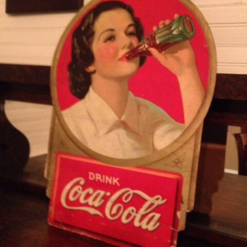 1938 Coca Cola Cutout - Coca-Cola