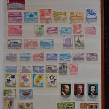 Stamp album #4 theme of the whole world In Stamps