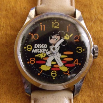 "Bradley ""Disco"" Mickey Mouse Watch"