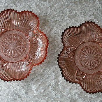 What is it? Depression glass candy bowls