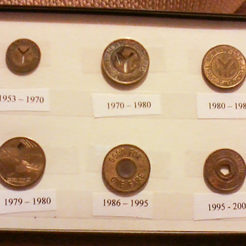 New York City Subway Tokens - US Coins