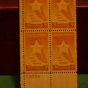 1948 United States Gold Star Mothers 3¢ Postage Stamps - Stamps