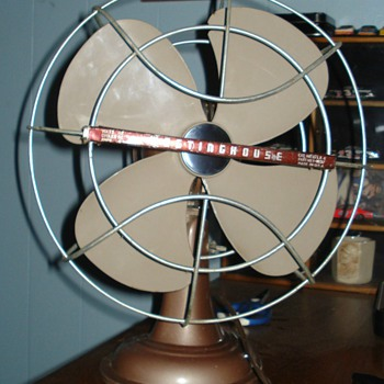 "1950s Westinghouse LivelyAire 10"" Desk Fan UPDATE"