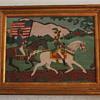 Folk Art Depicting Early American Scene