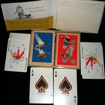 Prairie wings Cards double deck