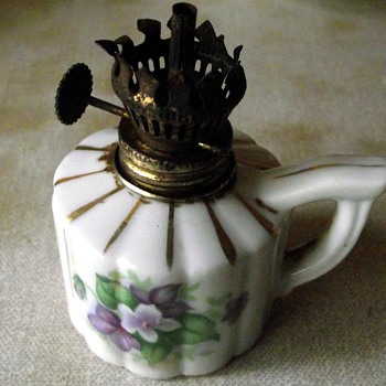 miniture oil lamp burner-victorian?.