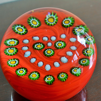 Gentile Glass Paperweight