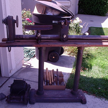 Grandpa's Wood Lathe