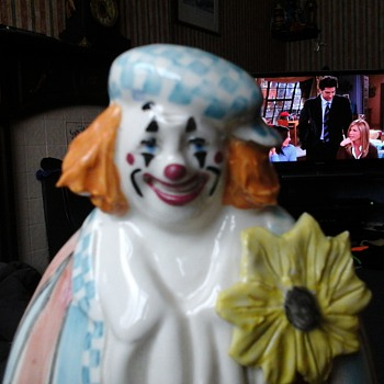 pottery clown