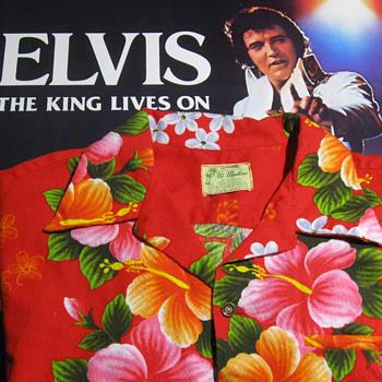 ELVIS PRESLEY  .  .  . Personal Hawaiian Shirt