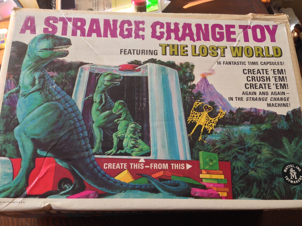 Strange Change Toy : S strange change creature toy by mattel collectors