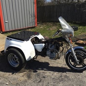 1979 Honda C X 500 police trike