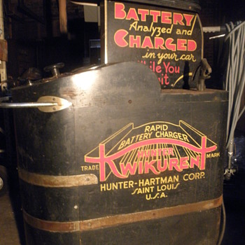 Hunter Engineering Company- Kwikurent Battery Charger