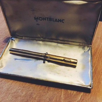 Gold 18k Montblanc Fountain Pen 1932