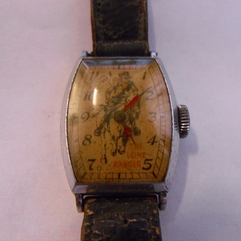 1939 New Haven Lone Ranger Wrist Watch - Wristwatches