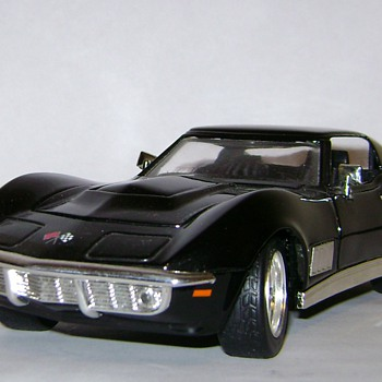 1968 Chevy Corvette - Model Cars