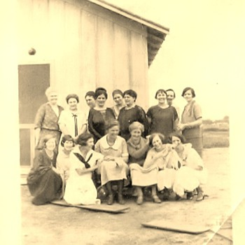 The Ladies of Carter Oil, 1925, Oklahoma - Petroliana