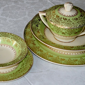 1937 Edwin Knowles - China and Dinnerware