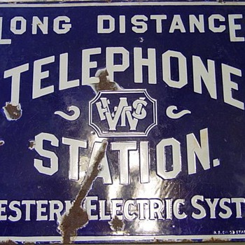 Western Electric System Sign - Signs
