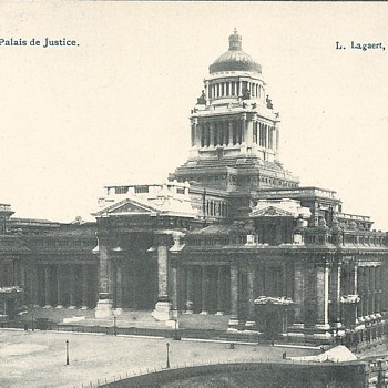 BRUXELLES - LE PALAIS DE JUSTICE - Postcards