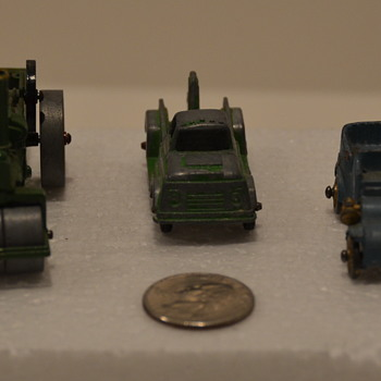 Miniature die cast cars/trucks