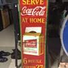 Rare Canadian Coca Cola 6-pack Sign