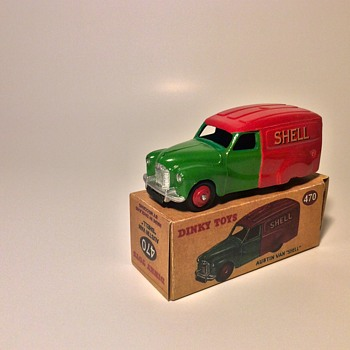 Dinky 470 Austin SHELL Van - Model Cars