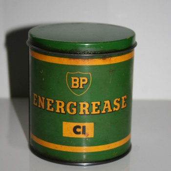 BP Energol small grease can - Petroliana
