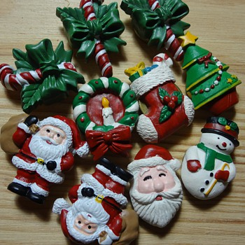 cute christmas button covers - Christmas