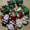 cute christmas button covers