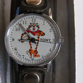 "Kellogg's ""Tony The Tiger"" Wrist Watch - Wristwatches"