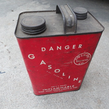 Cal-Can soldered gas can