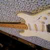 1988 fender mij squire stratocaster signed by robert cray+more