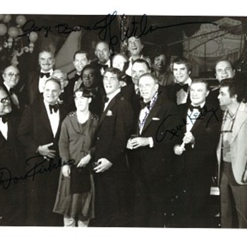Group Photo from Deam Martin's Frank Sinatra Roast 1977